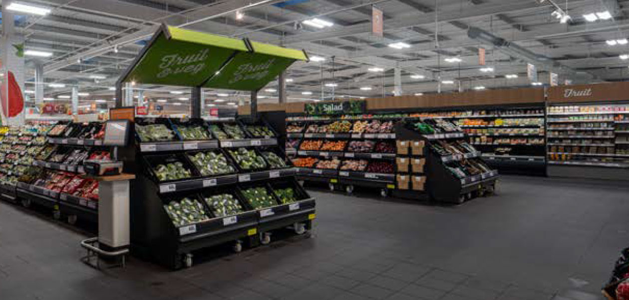 Image of a Sainsbury's store interior